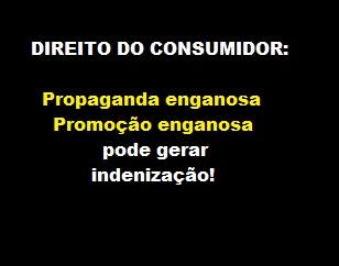 direito do consumidor - propaganda enganosa