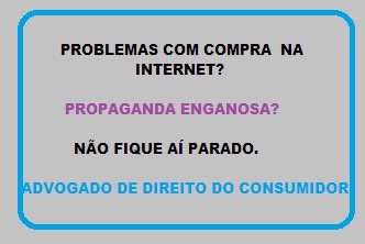 Advogado de direito do consumidor no Rio de Janeiro - venda na internet