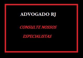 Advogado RJ - Rio de Janeiro