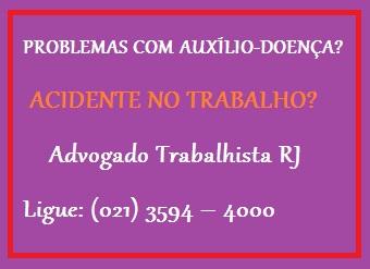 Advogado de direito trabalhista no Rio de Janeiro - RJ
