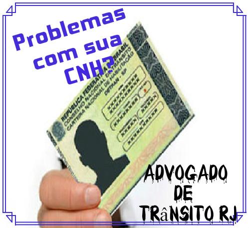 cancelamento indevido de CNH -