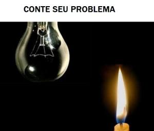 falta de luz