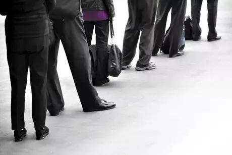 Espera excessiva em fila de banco