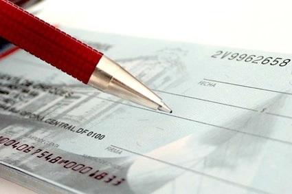 cheque clonado